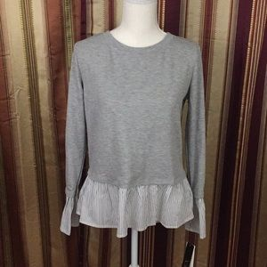 New BCX long sleeve blouse top